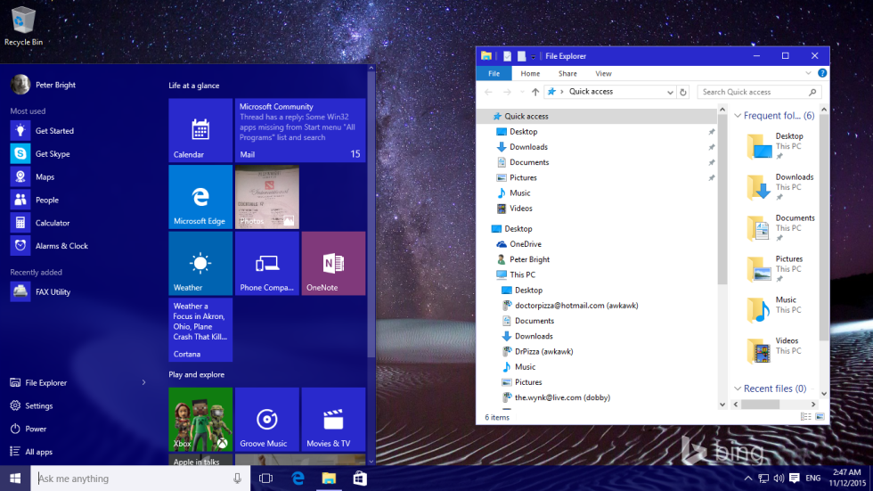Is windows 10 ready for enterprise software development for New windows software