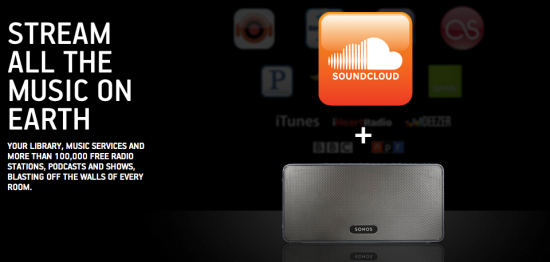 sonos and soundcloud